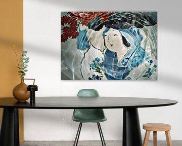 Unterwasser-Malerei. Japanische Ausgabe von Rudy & Gisela Schlechter