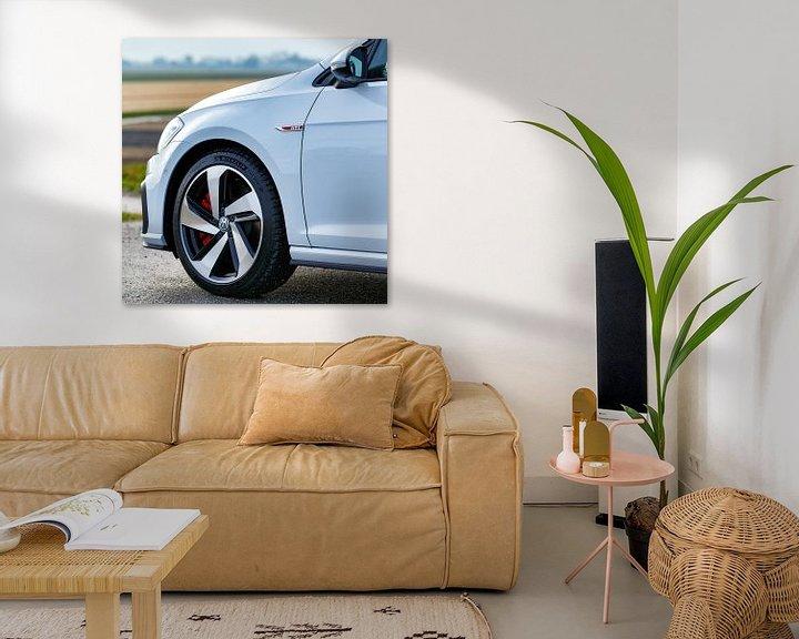 Sfeerimpressie: Volkswagen Golf GTI performance van Menno Schaefer