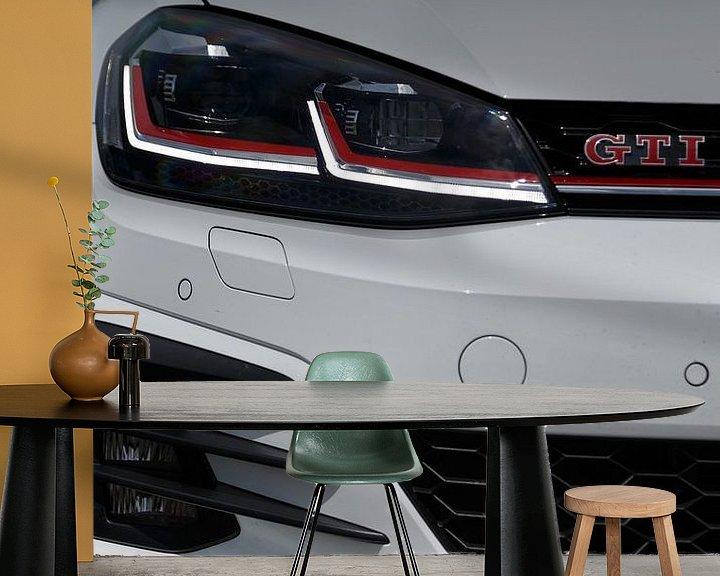 Beispiel fototapete: Volkswagen Golf GTI Leistung von Menno Schaefer