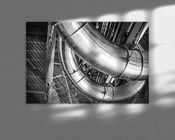 metalen schuif van Florian Kampes