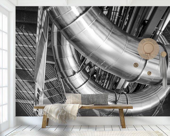 Beispiel fototapete: Metal Slide von Florian Kampes