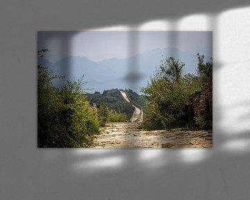 Grote Muur van China van Florian Kampes