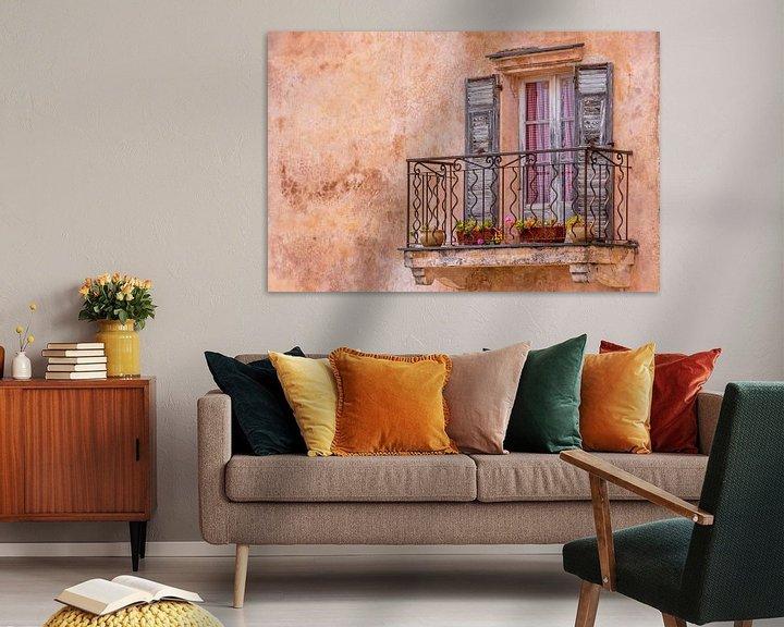 Beispiel: Mediterranes, altes Fenster mit Balkon von Fartifos