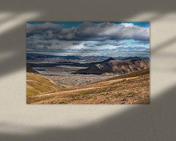 Uitzicht over IJsland van Thomas Heitz