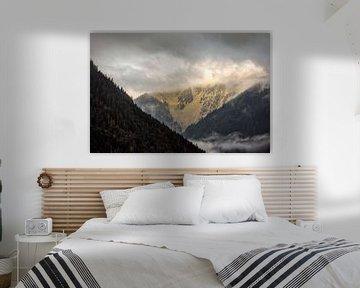 Alpen @ Sankt-Gallenkirch van Rob Boon