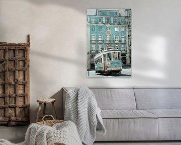 Seilbahn von Lissabon von Cindy Schipper