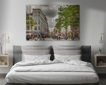 Die Damstraat in Amsterdam sur Don Fonzarelli