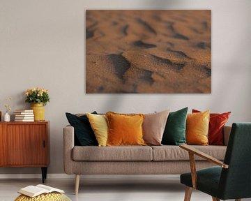 Struktur im Sand von Nynke Altenburg