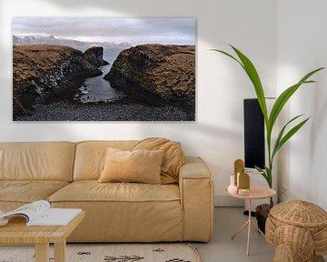 Küste von Arnarstapi von Timon Schneider