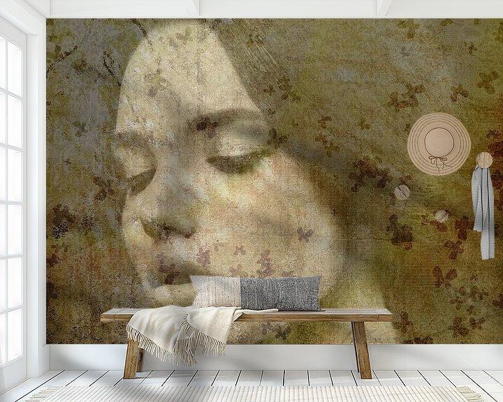 Sfeerimpressie behang: Dreaming van Maaike Wycisk