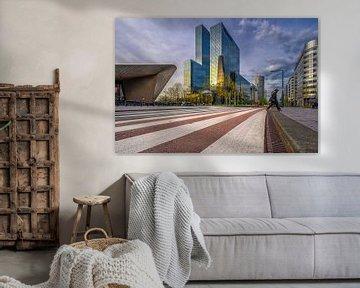 Stationsplein Rotterdam von Leon Okkenburg
