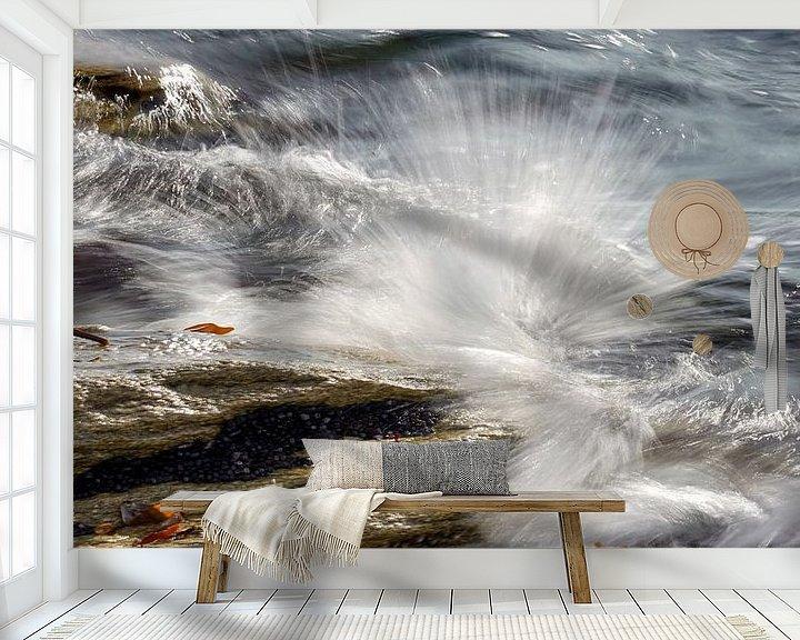 Beispiel fototapete: Forces of nature Part IV - Scale 1:2 von Andreas Wemmje