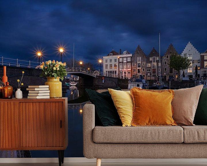 Beispiel fototapete: Kinderdijk Middelburg von Thom Brouwer