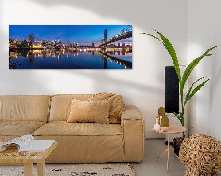 Sfeerimpressie: New York Panorama van Photo Wall Decoration