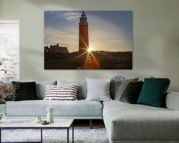 Leuchtturm von Texel von Maurice Welling