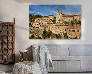 Vue d'une maison dans le sud de la France sur Anja B. Schäfer