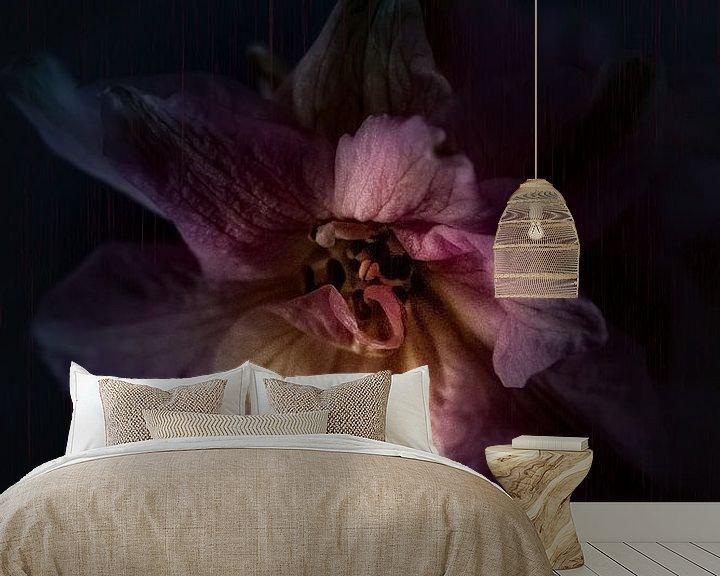 Beispiel fototapete: Kraft einer Blume von bart dirksen