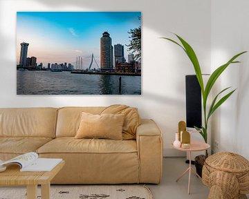 Skyline Rotterdam van Truckpowerr