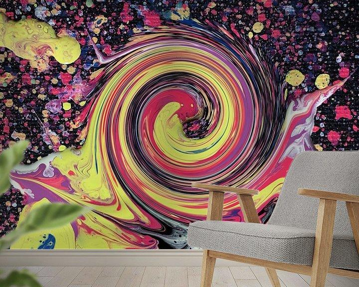 Beispiel fototapete: Hypnotische Süßigkeiten von Milky Fine Art