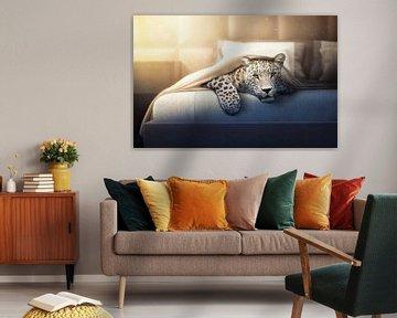 Jaguar im Bett von Markus Bieck