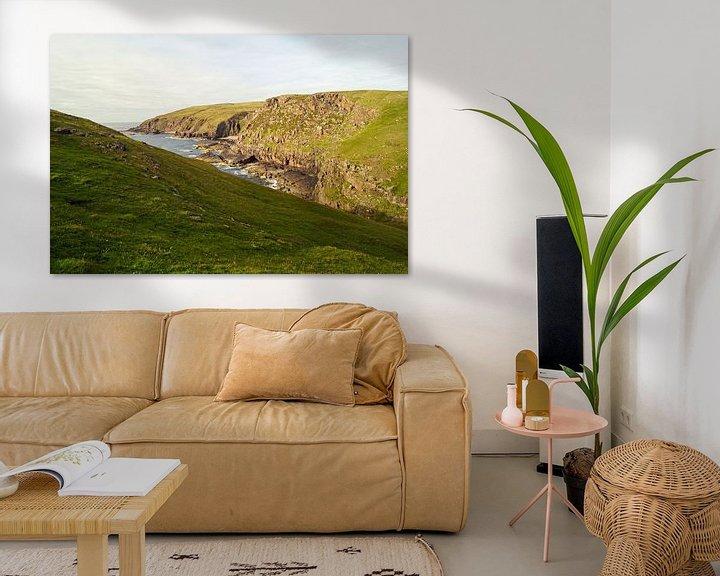 Impression: Falaises de Stoer Head en Écosse . sur Babetts Bildergalerie