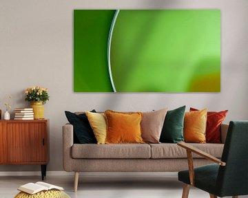 Groen panaorama van Vincent van Kooten