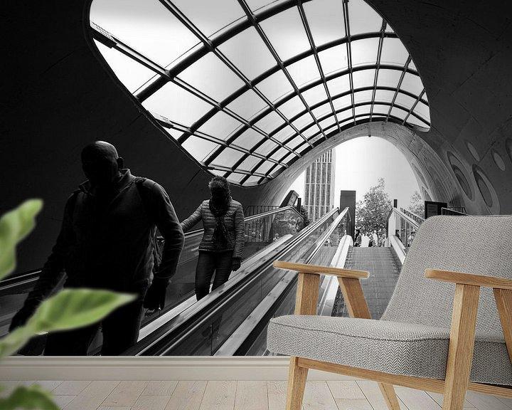 Sfeerimpressie behang: Schimmenspel van Henri Boer Fotografie