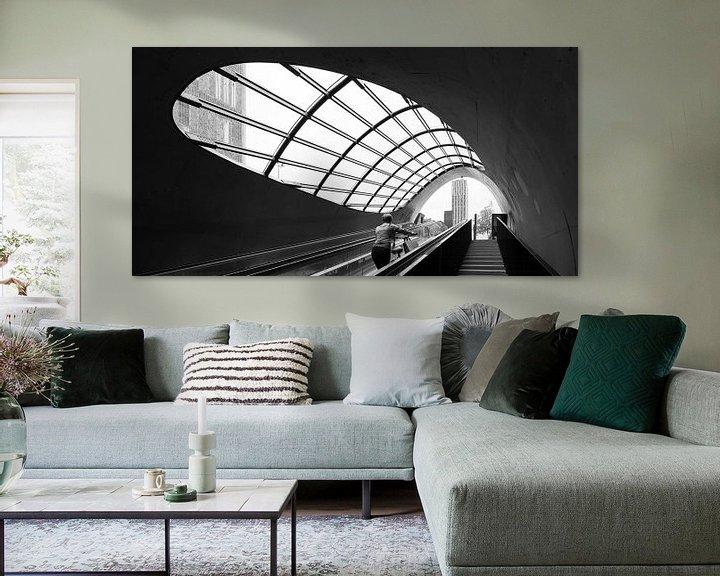 Sfeerimpressie: Fietsenstalling Eindhoven van Henri Boer Fotografie