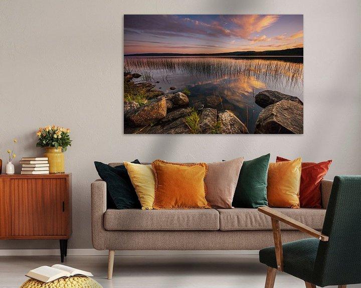 Sfeerimpressie: Zweedse meren van Hans van den Beukel