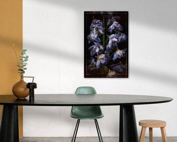 Oude Bloemen 5 van Henk Leijen