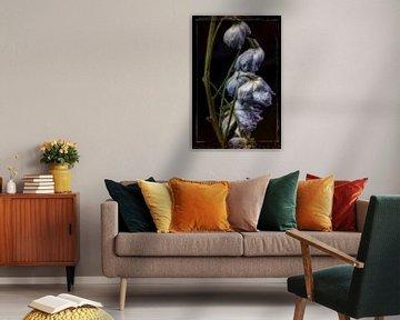 Oude Bloemen 8 van Henk Leijen