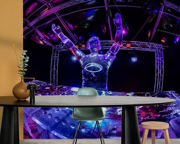 Sfeerimpressie behang: ICE Cool DJ van Jan Enthoven Fotografie