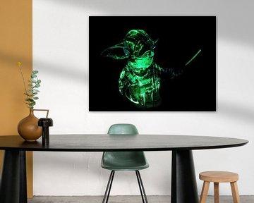 Yoda van Jan Enthoven Fotografie