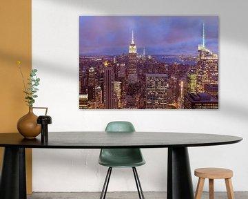 Blick auf Manhattan New York von Patrick Lohmüller