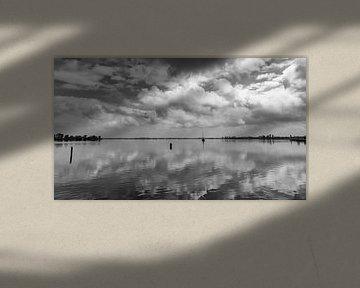 Een windstille dag op het Wormer en Jisperveld in de zomer van 2021 van Studio de Waay
