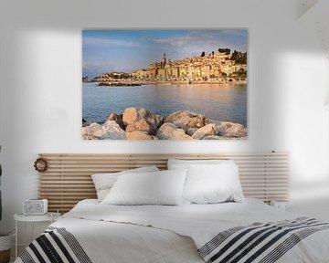Menton sur la Côte d'Azur