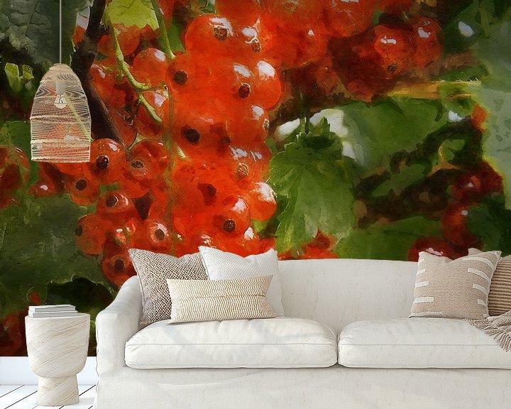 Sfeerimpressie behang: Krenten van Andreas Wemmje