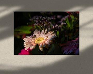 Detail eines Blumenstraußes von Joran Quinten