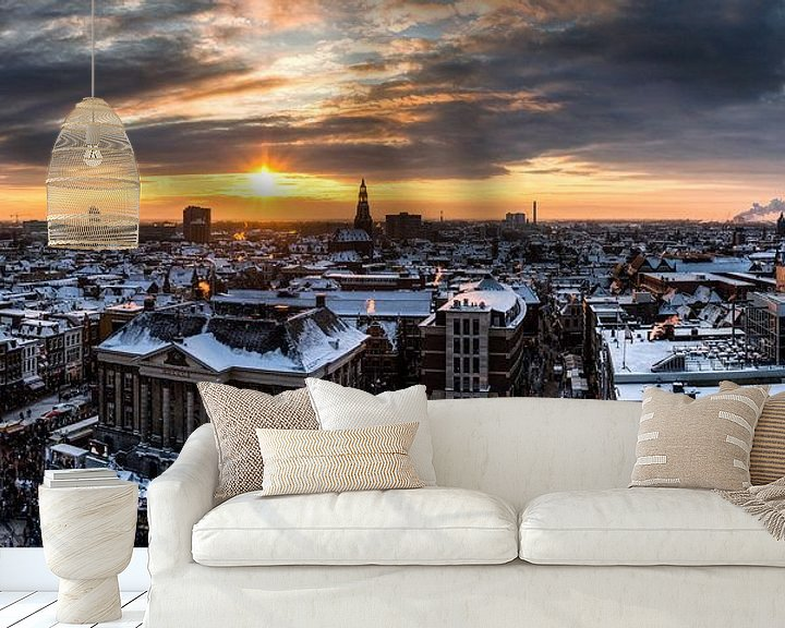 Impression: Panorama Winters Groningen sur Frenk Volt