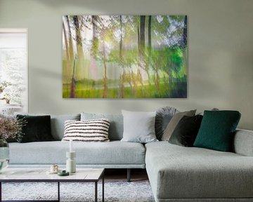 Waldspaziergang von Frans Nijland