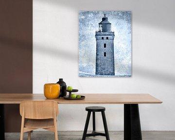 Leuchtturm Rubjerg Knude V von Kirsten Warner
