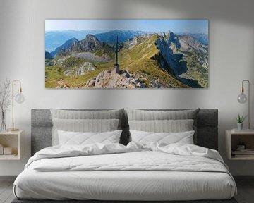 Vue du sommet Rofanspitze Alpes tyroliennes sur Susanne Bauernfeind