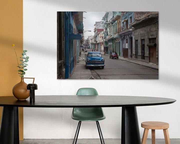Impression: Scène de rue à Cuba sur Sander Meijering