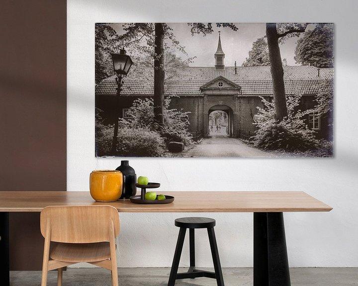 Sfeerimpressie: Poortgebouw Rhijnauwen van Jan van der Knaap