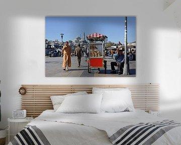 straatbeeld Istanbul van Antwan Janssen