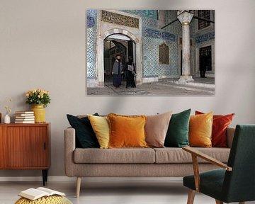 Harem in het Topkapi paleis van Antwan Janssen