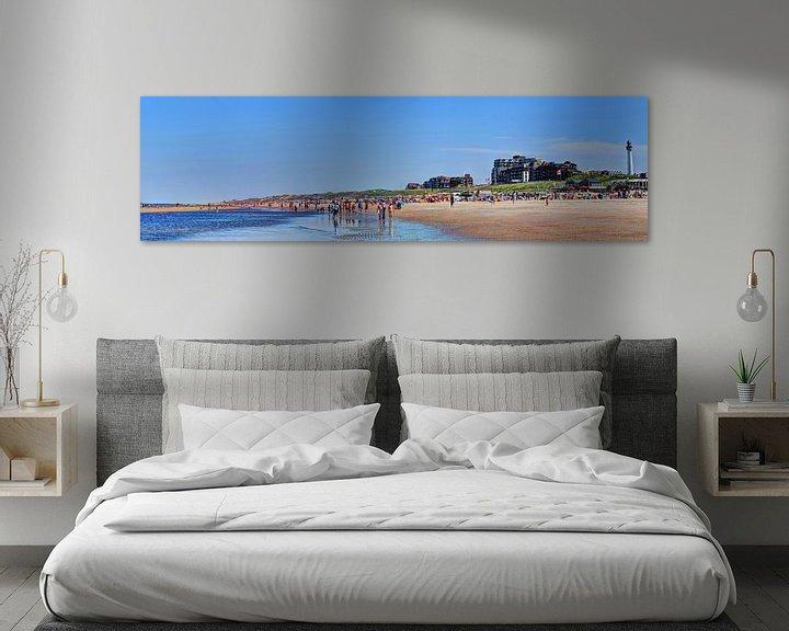 Sfeerimpressie: Egmond aan Zee Strand Vuurtoren Panorama van Hendrik-Jan Kornelis