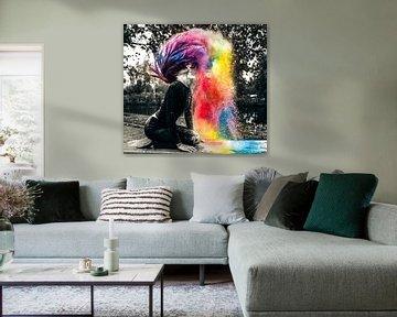 Kleurrijk van Marielle Jurvillier