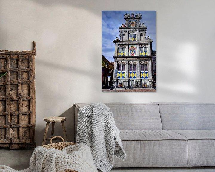 Impression: Musée Hoorn Westfries Hollande du Nord Pays-Bas sur Hendrik-Jan Kornelis