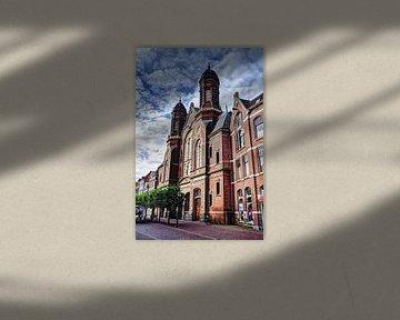Hoorn Grote Noord Noord-Holland Nederland van Hendrik-Jan Kornelis